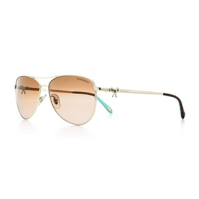 Tiffany Twist Aviator Bow Sunglasses
