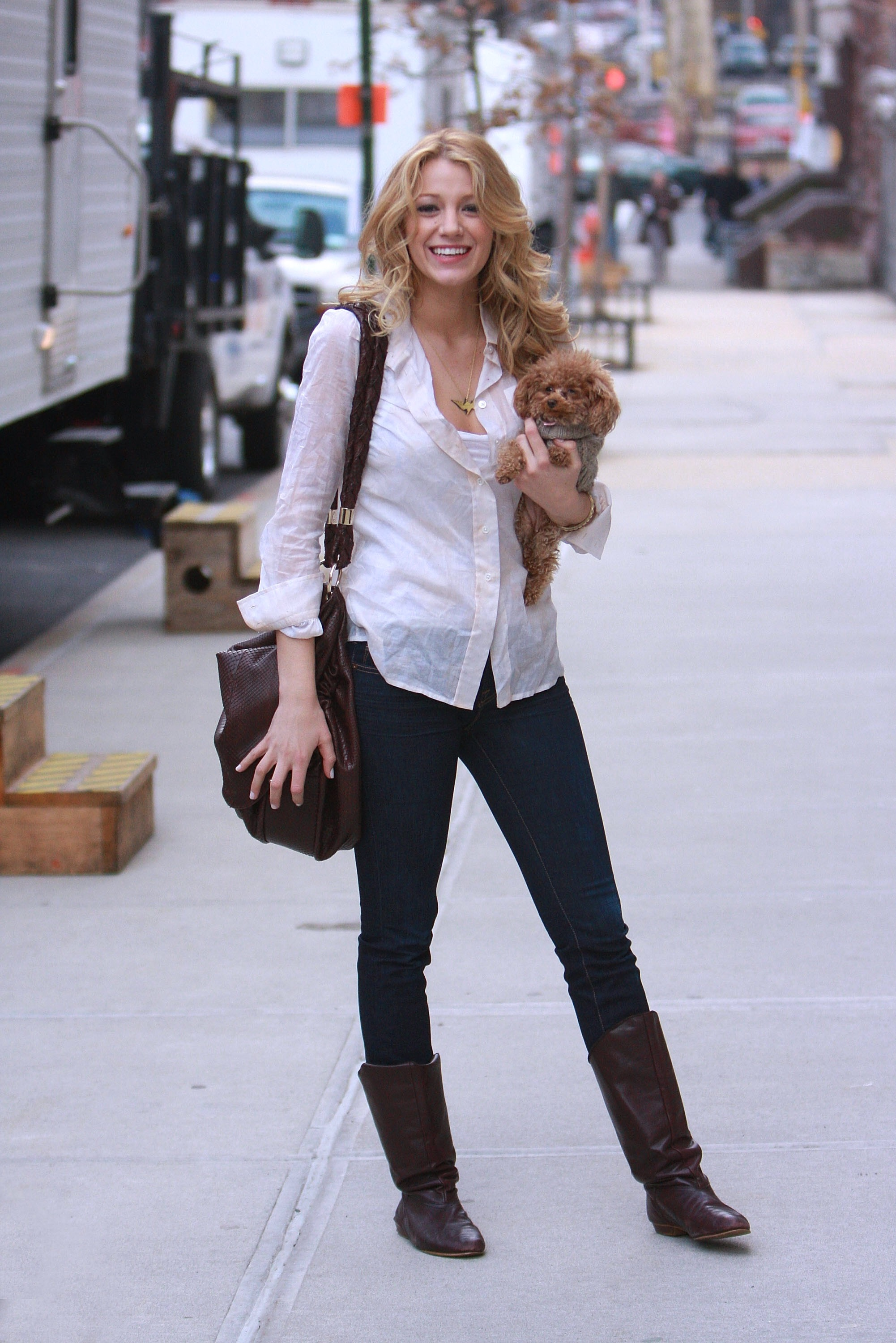 blake lively streetstyle