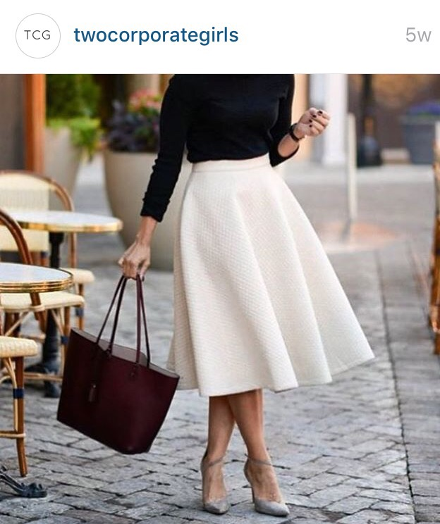 tea skirt fashion