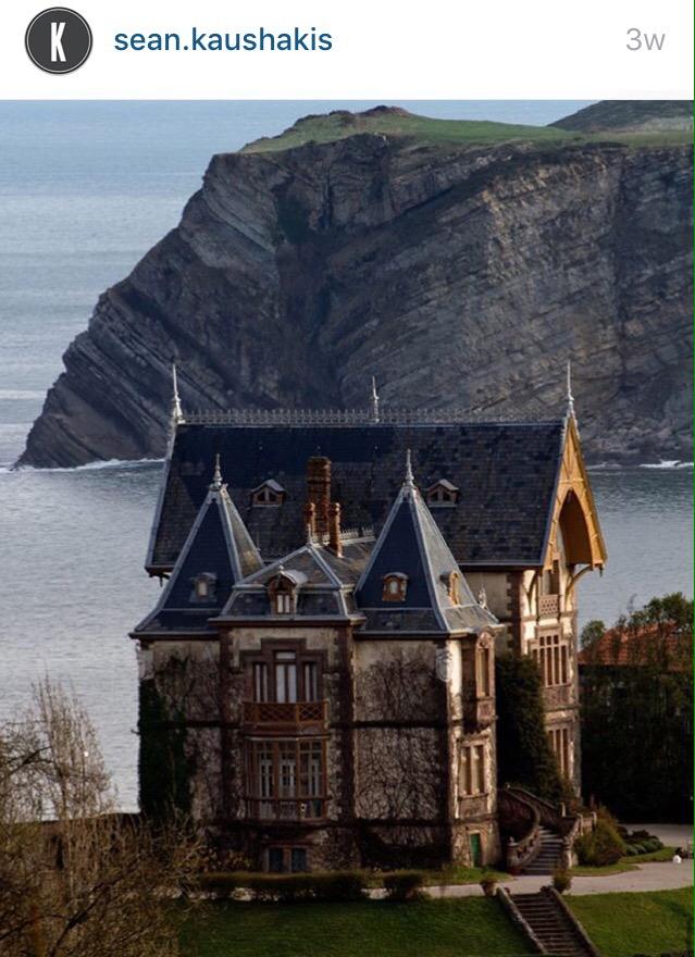 dream mansion sea cliff