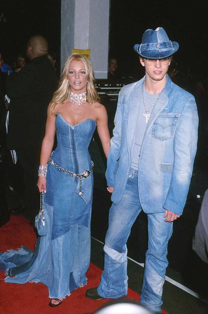 matching couples britney spears justin timberlake