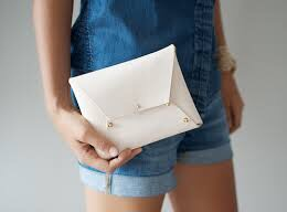 geneva vanderzeil- a pair and a spare- diy - leather clutch