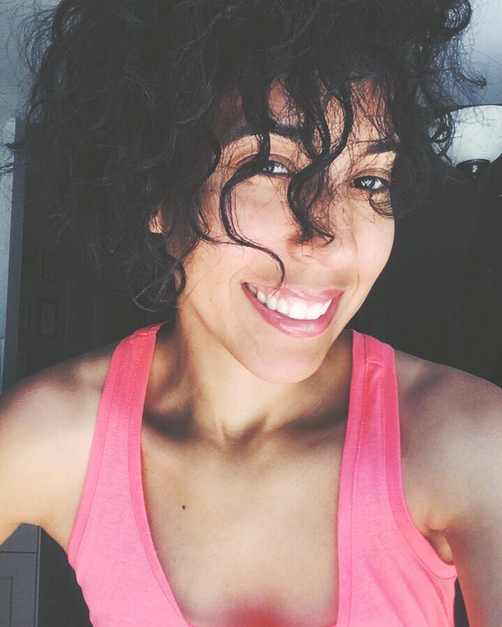 fashion blogger- selfie- smile