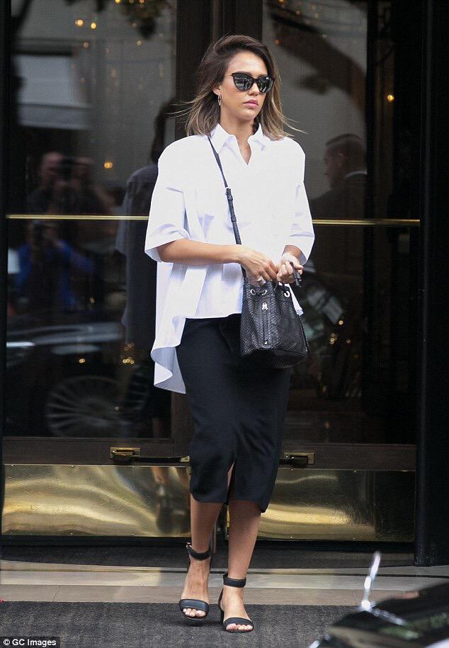 jessica alba- fashion- streetstyle