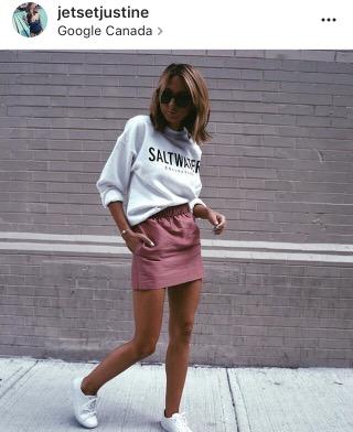 jet set justine- pink skiry- fashion blogger-instagram