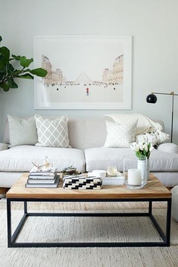 neutral home decor- home decor-living room inspiration- white room