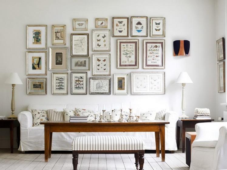 frames- home decor- living room inspiration