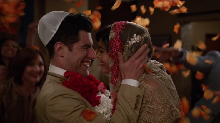 Shmidt gets married to Cece on New Girl Tv show