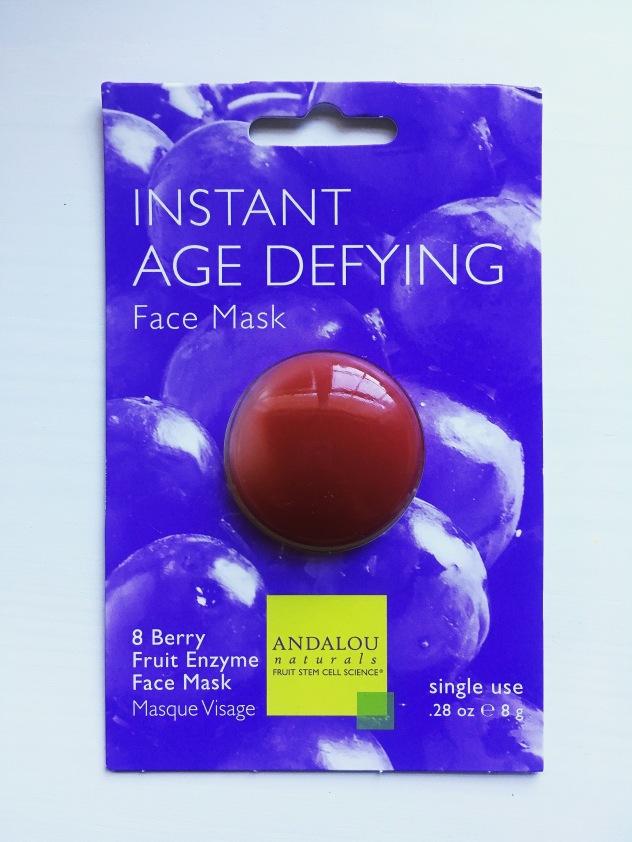 Andalou naturals age defying face mask